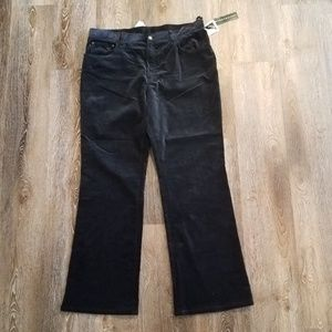 Ralph Lauren Jeans Company Velour Velvet Pants 16